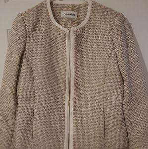 Calvin Klein blazer jacket size 2